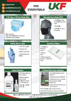 PPE Essentials Leaflet