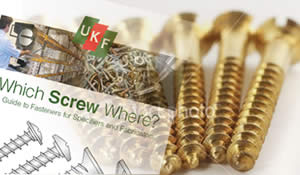 Which Screw Where Guide - a free guide to all our fasteners products